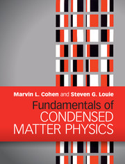 Fundamentals of Condensed Matter Physics