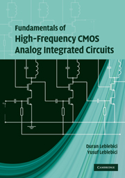 Fundamentals of High-Frequency CMOS Analog Integrated Circuits