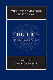 New Cambridge History of the Bible