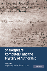 Shakespeare, Computers, and the Mystery of Authorship