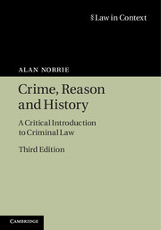 Crime, Reason and History