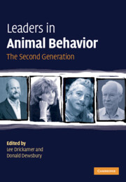 Leaders in Animal Behavior