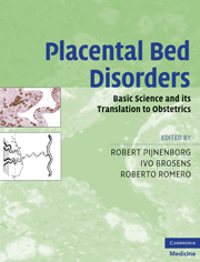 Placental Bed Disorders