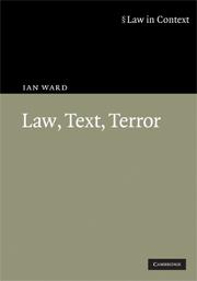 Law, Text, Terror
