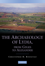 The Archaeology of Lydia, from Gyges to Alexander