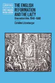 The English Reformation and the Laity