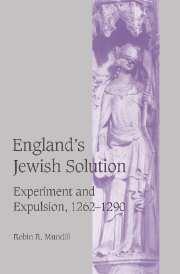 England's Jewish Solution