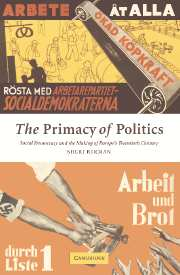 The Primacy of Politics