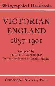 Victorian England 1837–1901