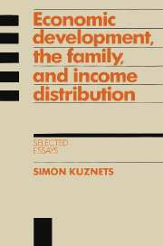 Economic Development, the Family, and Income Distribution