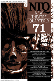 New Theatre Quarterly 71