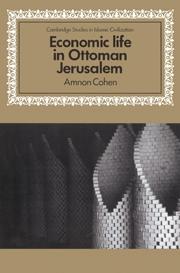 Economic Life in Ottoman Jerusalem