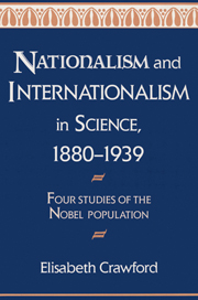 Nationalism and Internationalism in Science, 1880–1939