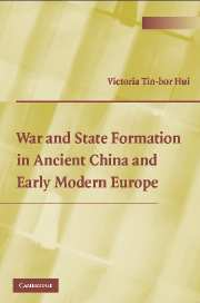 War and State Formation in Ancient China and Early Modern Europe