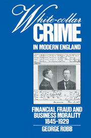 White-Collar Crime in Modern England