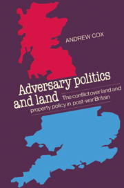Adversary Politics and Land