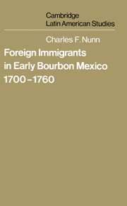 Foreign Immigrants in Early Bourbon Mexico, 1700–1760