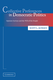 Collective Preferences in Democratic Politics