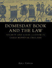 Domesday Book and the Law