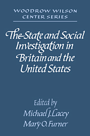 The State and Social Investigation in Britain and the United States