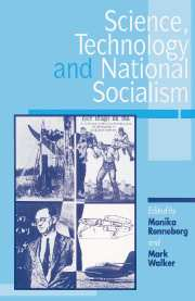 Science, Technology, and National Socialism