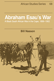 Abraham Esau's War