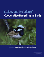 Ecology and Evolution of Cooperative Breeding in Birds