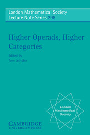 Higher Operads, Higher Categories