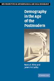 Demography in the Age of the Postmodern