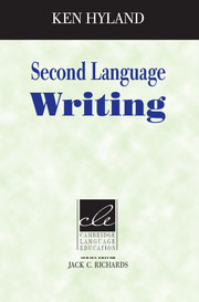 Second Language Writing (Cambridge Language Education)