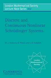 Discrete and Continuous Nonlinear Schrödinger Systems