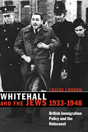 Whitehall and the Jews, 1933–1948