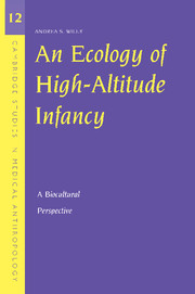 An Ecology Of High Altitude Infancy