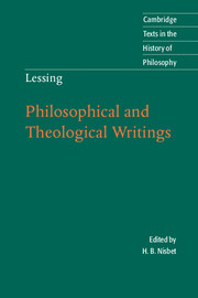 Lessing: Philosophical and Theological Writings