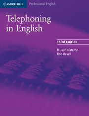 Telephoning in English 3rd Edition