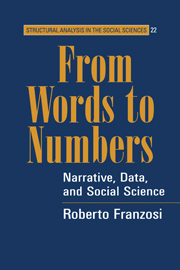 From Words to Numbers