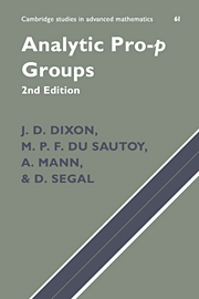 Analytic Pro-P Groups