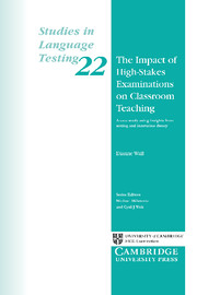 The Impact of High-Stakes Examinations on Classroom Teaching