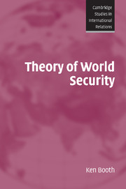 Theory of World Security