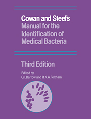 Cowan and steels manual identification medical bacteria 3rd edition cowan and steels manual for the identification of medical bacteria fandeluxe Image collections