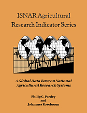 ISNAR Agricultural Research Indicator Series