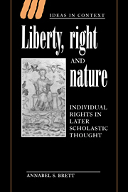 Liberty, Right and Nature