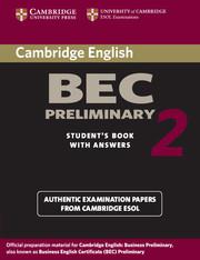 Cambridge BEC Preliminary 2