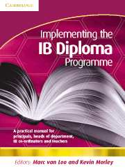 Implementing the IB Diploma Programme