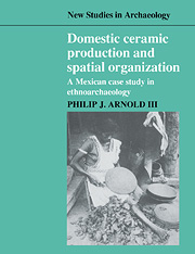 Domestic Ceramic Production and Spatial Organization