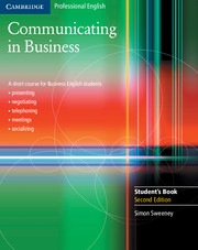 Communicating in Business 2nd Edition