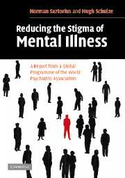 Reducing the Stigma of Mental Illness
