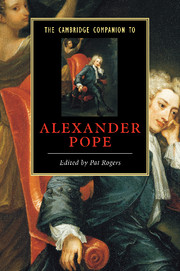 The Cambridge Companion to Alexander Pope