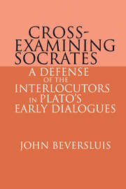 Cross-Examining Socrates