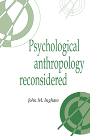 Psychological Anthropology Reconsidered